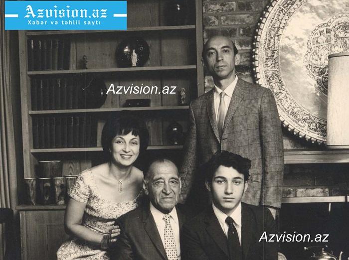 Bunlar mənim atam, onun atası Rəhim və anam Feydir. Bu foto təxminən 1964-cü ildə bizim Kaliforniya ştatı, Orinda şəhərində yaşadığımız vaxtda çəkilib.