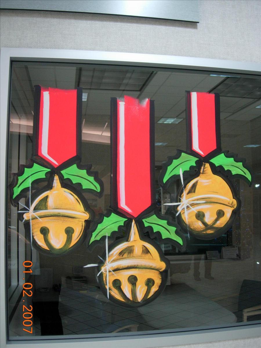 Christmas Window Painting Ideas Arte Inspire