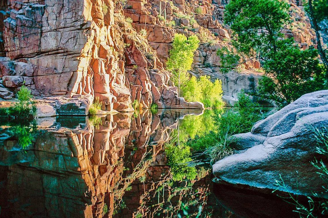 Hellsgate Wilderness swimming hole