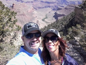Paul Fiarkoski and wife at Grand Canyon