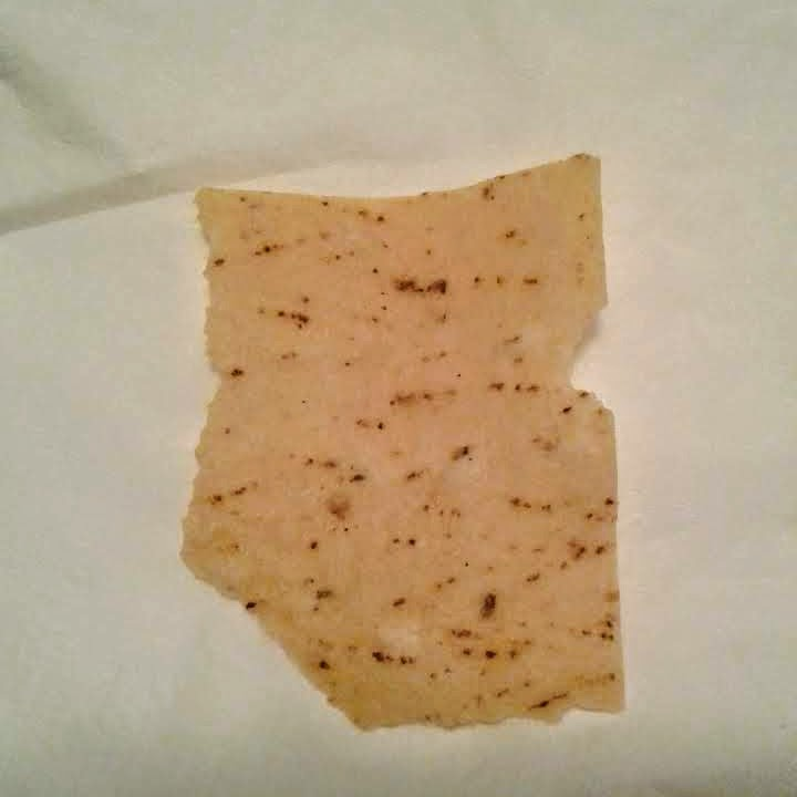 Arizona shaped tortilla chip
