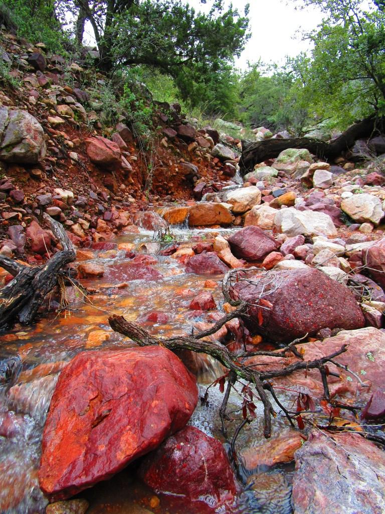 Small waterfall along Barnhardt Trail near Payson, AZ