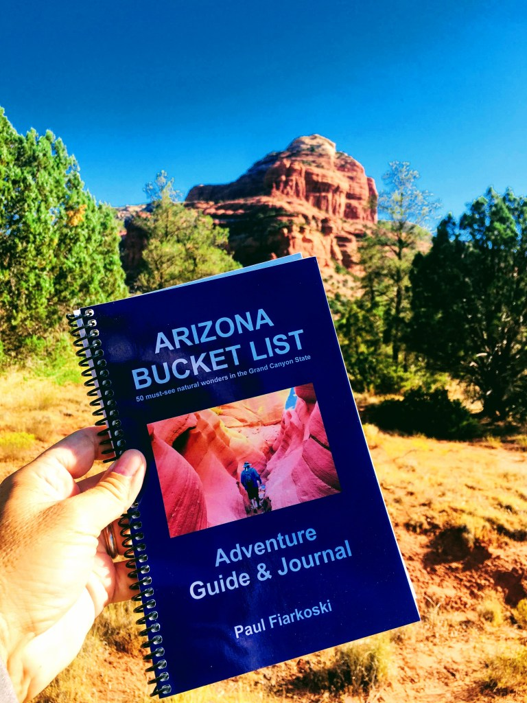 Arizona Bucket List Book Sedona