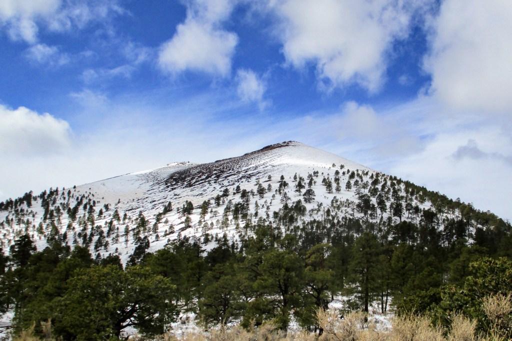 Snow-cover mountain