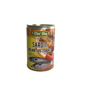 Che Din Sardin Dalam Sos Tomato (Besar) 425G