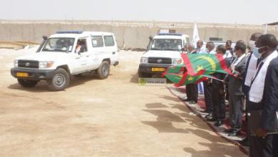 صورة نواكشوط: وزراء يشرفون على تكملة الوحدات الطبية لسلامة الطرق