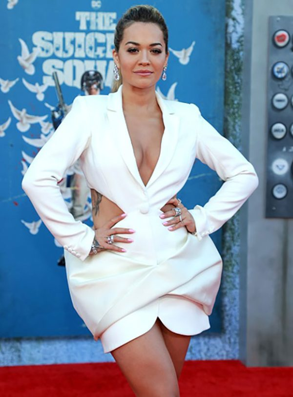 Rita Ora Wearing Azzi & Osta