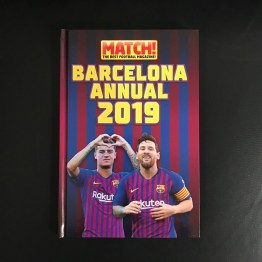 The Official Barcelona Annual 2019