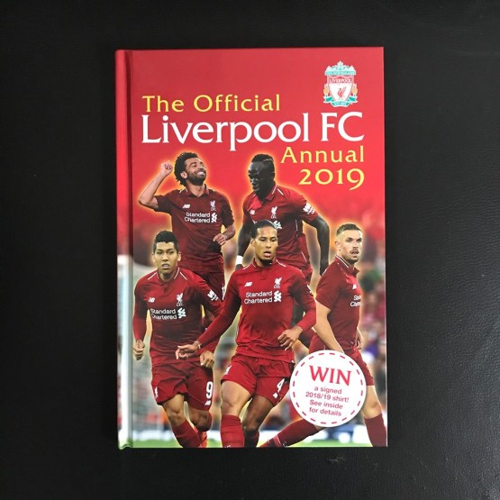 The Official Liverpool Annual 2019