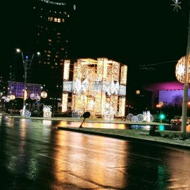 Christmas lights tour in Bucharest - Romania car transfer | Luxury travel in Europe