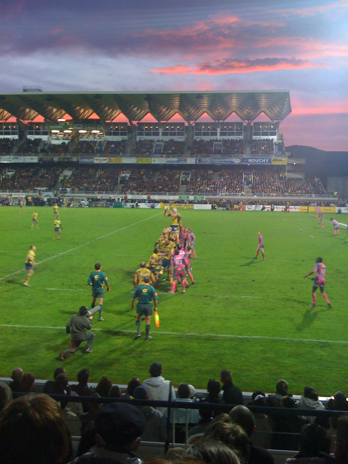ASM - SF saison 2008-09 - Stade Marcel-Michelin
