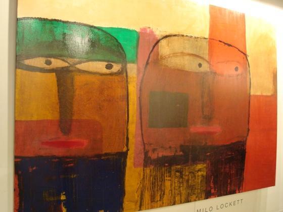 Obra de Milo Lockett. arteBA 2008.