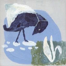 Pintura de Maria Guerrieri para Malos Pensamientos
