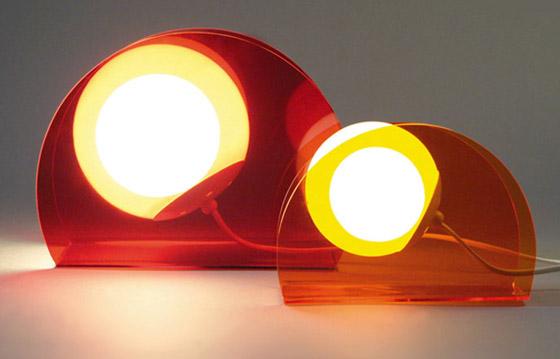 Lámparas de escritorio de Glitter