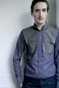 Camisa con apliques para hombre - Ladrón de Guevara