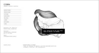Imagen del diseño del sitio web de Librería Cobra