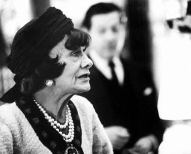 Gabrielle 'Coco' Chanel en sus últimos años