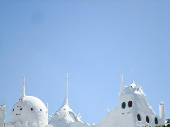 Vista de Casa Pueblo, en Punta del Este
