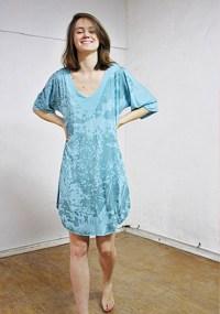 Vestido estampado de Domínguez
