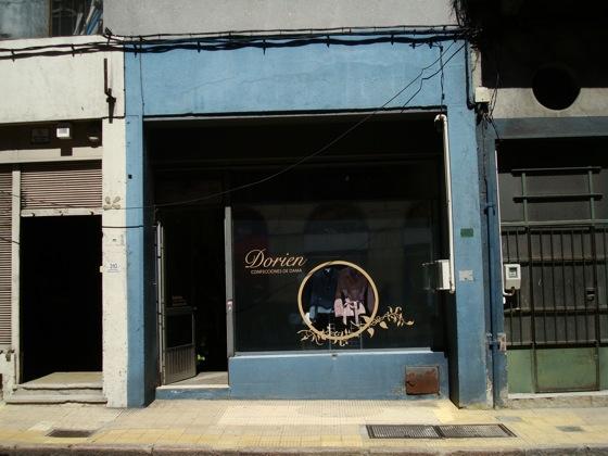 Antigua tienda de ropa Dorien en Ciudad Vieja