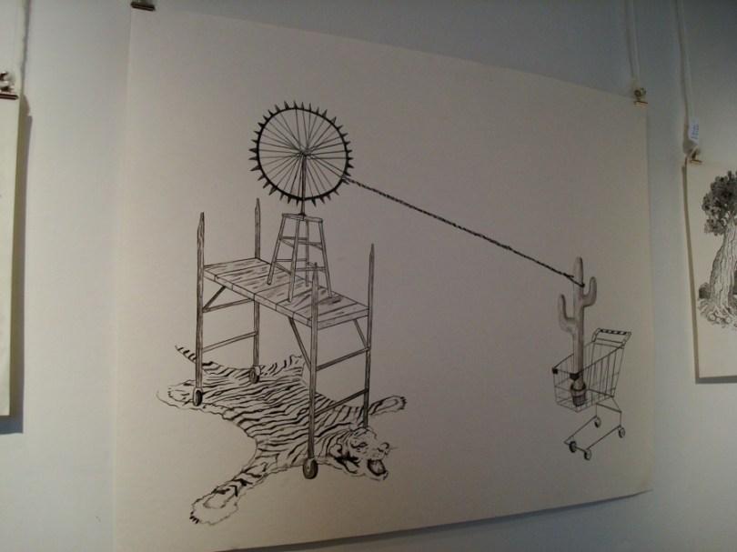 Dibujo de Andrés Aizicovich