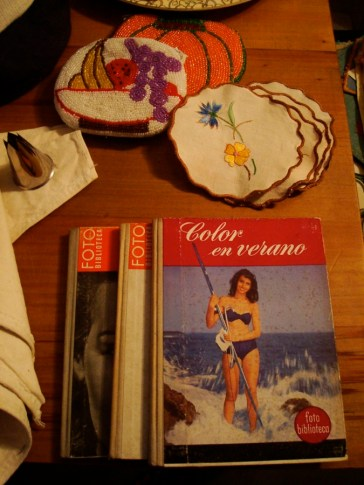 Libros y bordados
