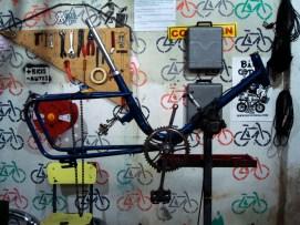 Un cuadro de bici de muestra