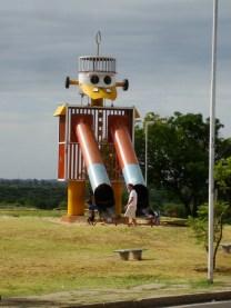 Aledaño a la escuela de canotaje de Paraná