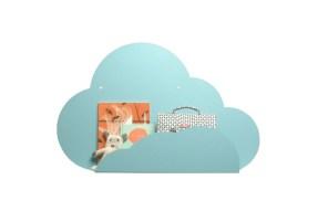 Estante nube decorativo