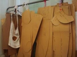 Piezas de moldería y bolsa de algodón agroecológico