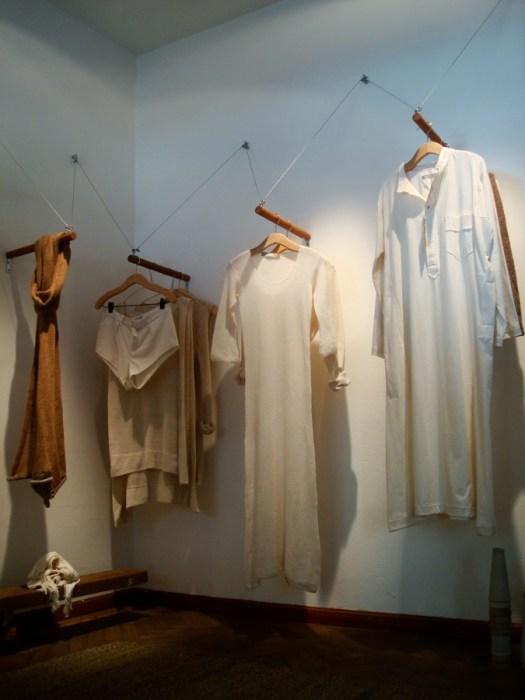 Colección home wear de algodón agroecológico. Foto.