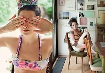 Ropa interior y sweater - Juana de Arco - Moda invierno 2011