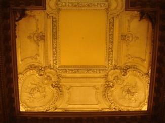 Detalle del techo del Salón de los bustos