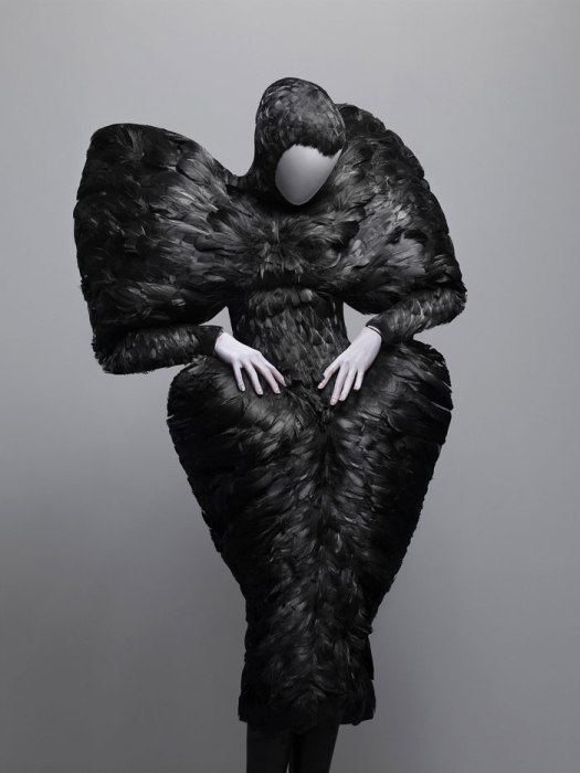Vestido de la colección The Horn of Plenty (2009-2010). Foto.