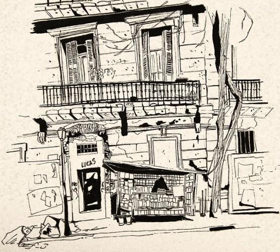 Buenos Aires por Anne-Sophie Girault. Imagen.