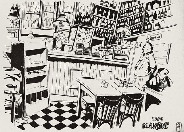Café Margot por Anne Sophie Girault