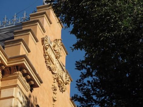 Fachada de frente de Villa Ocampo