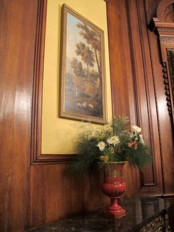 Recubrimientos de madera en el Salón de baile