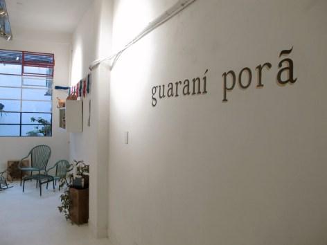 Entrada a Guaraní Porã, tienda de objetos y artesanías de Paraguay