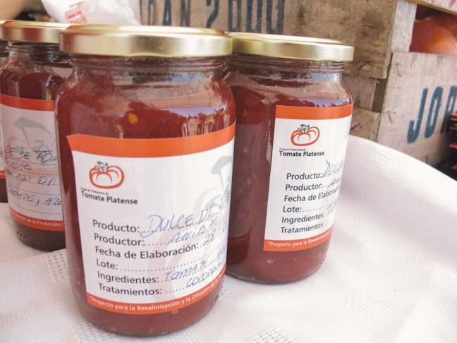 Dulces de Tomate Platense. Foto