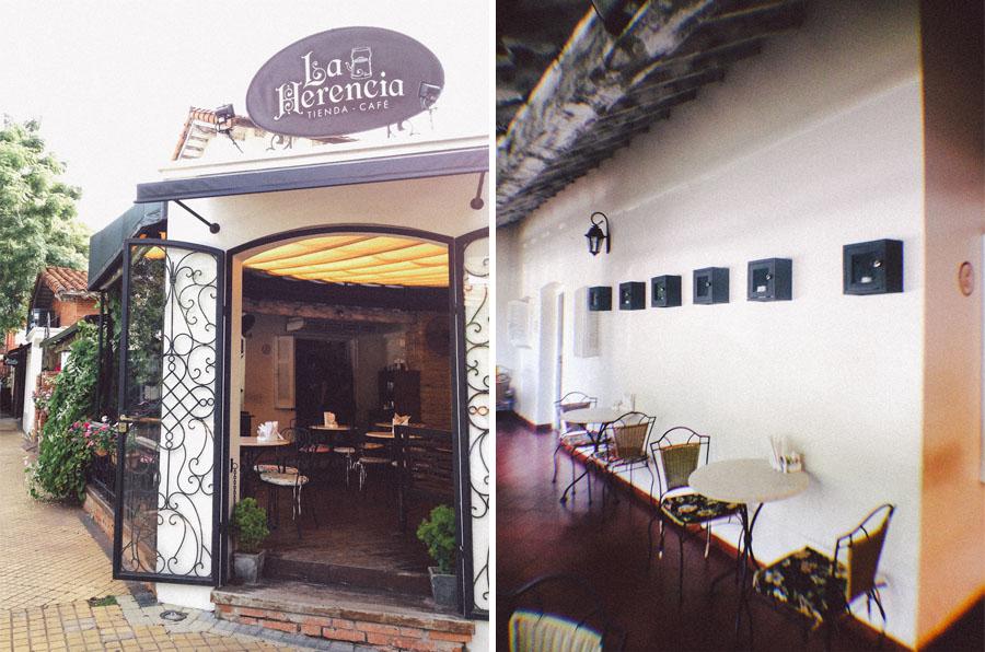 La Herencia, café en el barrio Las Mercedes de Asunción. Fotos
