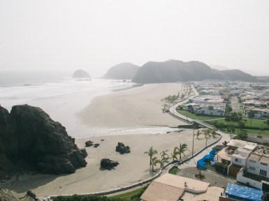 Vista de la playa de Las Totoritas. Foto