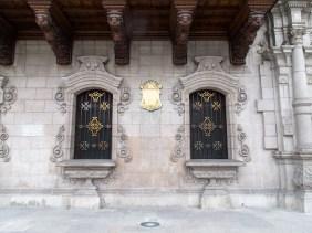 Frente del museo aledaño a la Catedral de Lima en la Plaza de armas. Foto