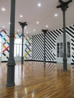 Hall de entrada del Museo de Arte Moderno de Lima. Foto
