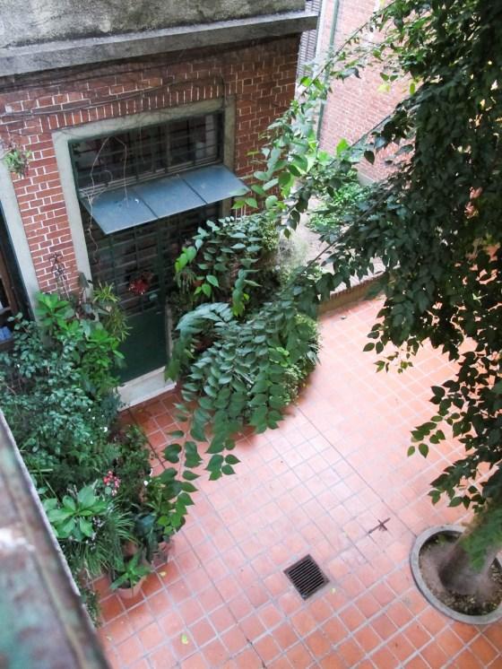 Vista desde el balcón de un departamento en Los Andes. Foto