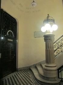 Escaleras y ascensores del Palacio Barolo. Foto