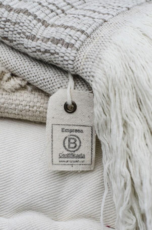 Manta Litoral de lana merino y algodón. ©Cúbreme
