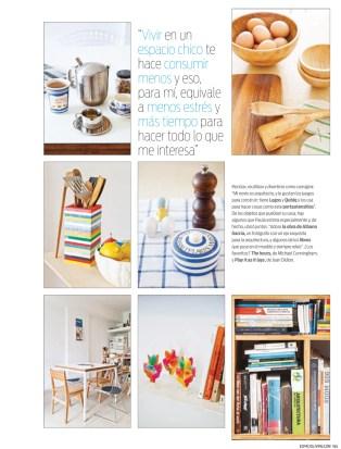 Paula Alvarado & BA Inspiration en revista Living. Foto