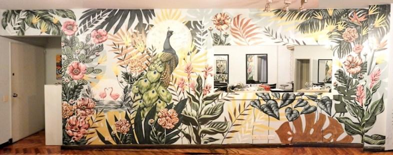 Selva Mural I, de Lucila Domínguez. Foto