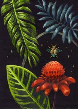 Misterio, pintura de Lucila Domínguez. Foto